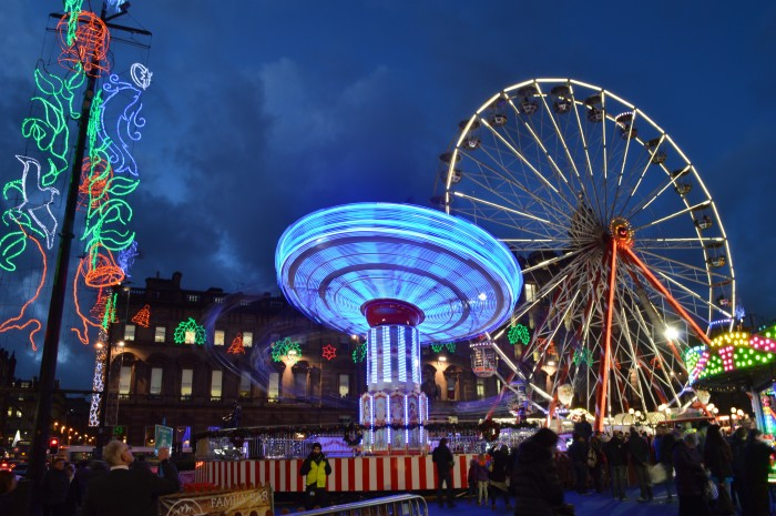 George Square, Glasgow, Christmas 2015